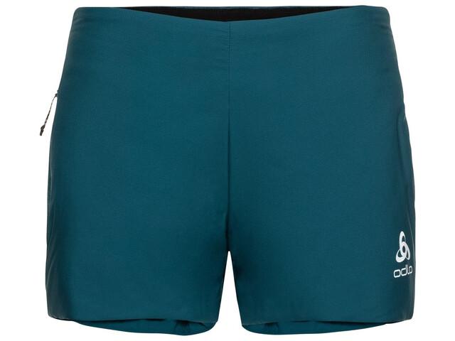 Odlo Millennium S-Thermic Spodnie krótkie Kobiety, submerged